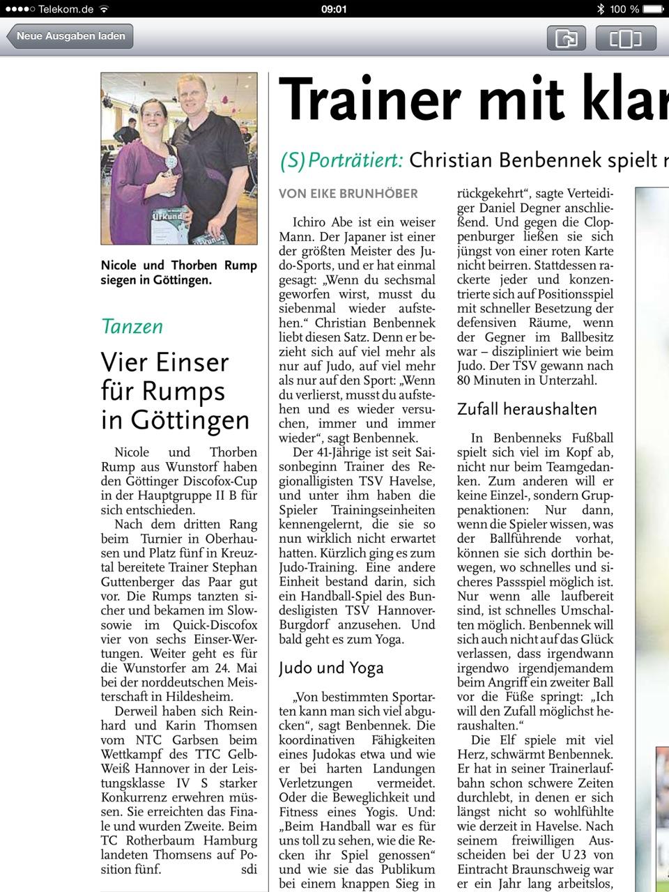 Göttinger Discofox Cup 2014