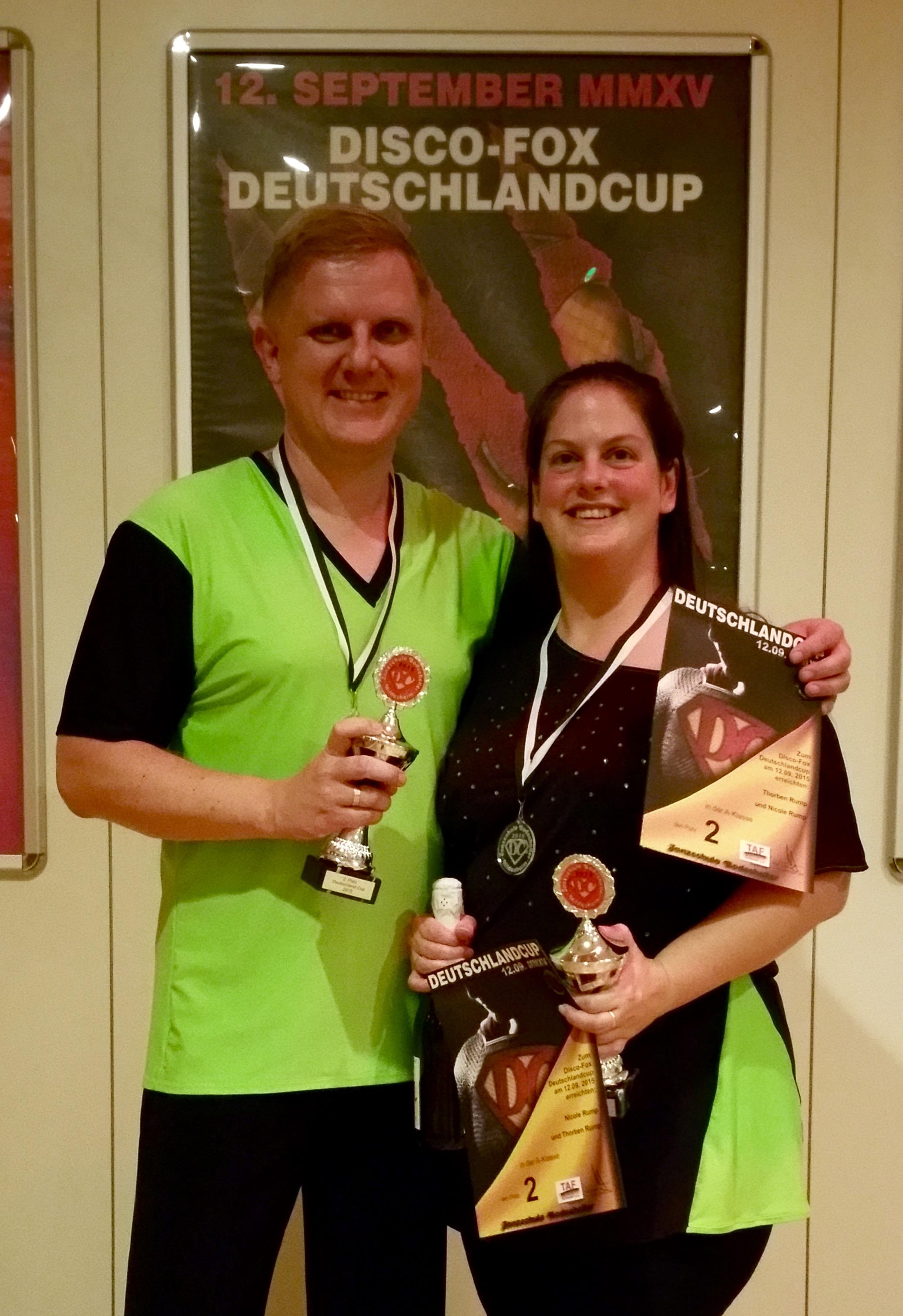 2. Platz beim Deutschlandcup in Hildesheim