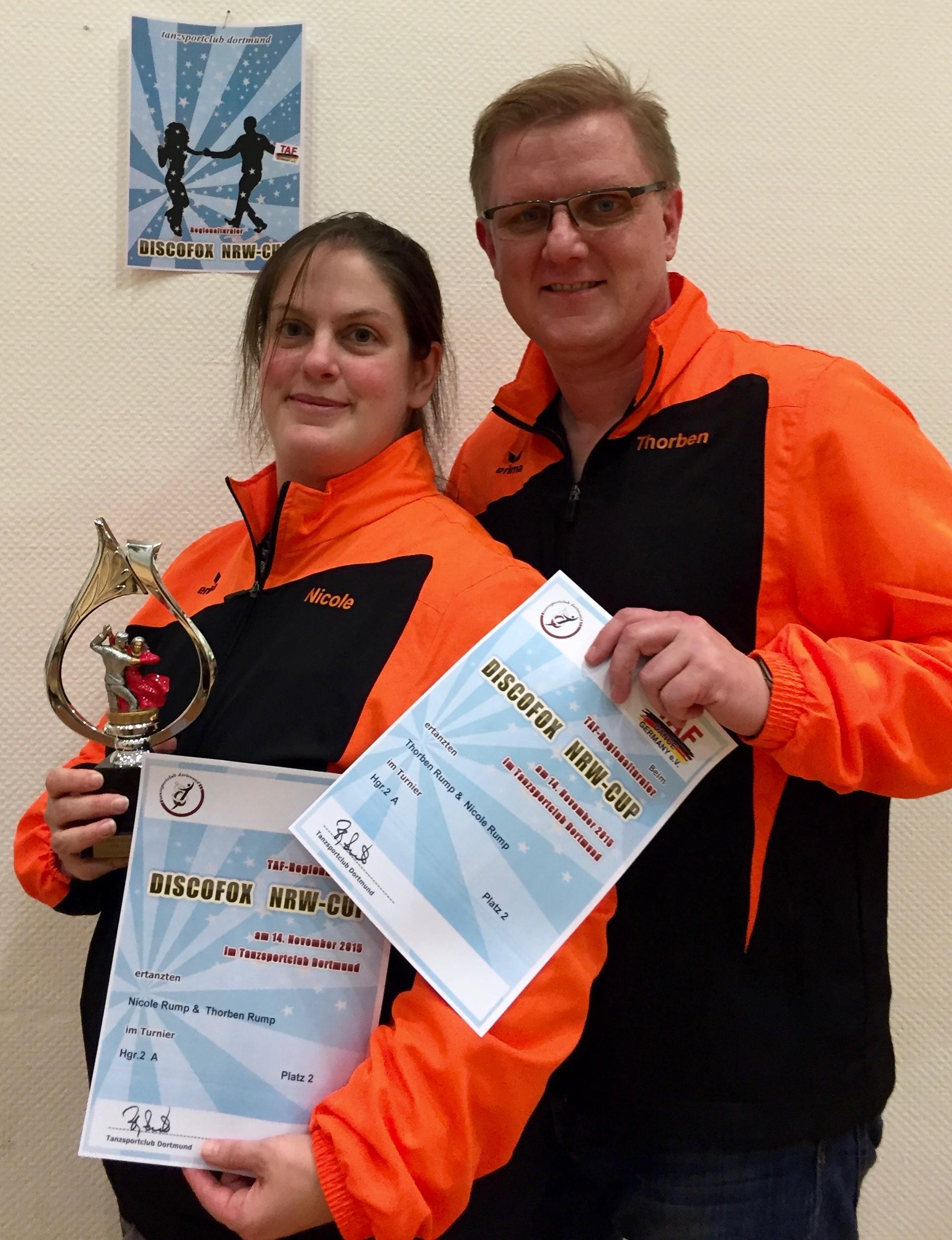 2. Platz beim NRW-Cup in Dortmund